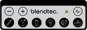 Blendtec Professional-750-Bedienfeld