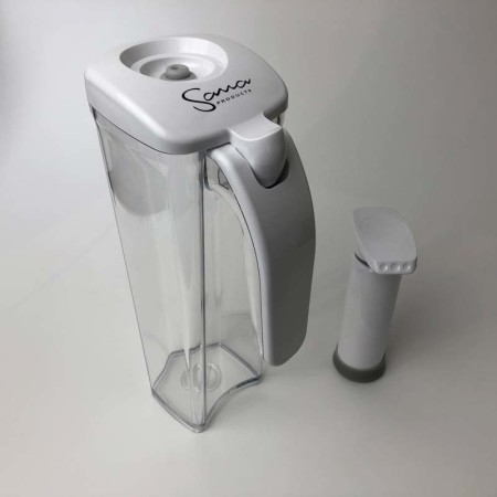 Sana-Vakuumbehälter inklusive Pumpe