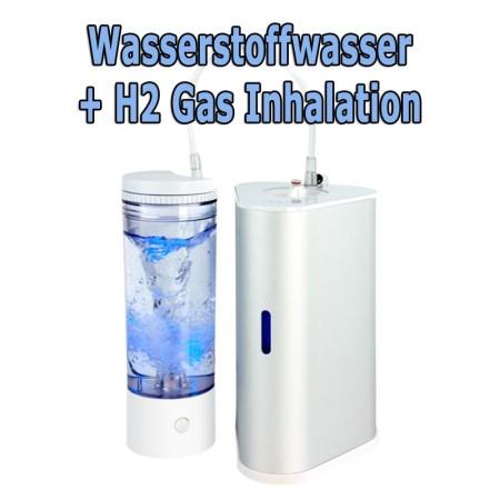 H2-Infuser & Inhalator mit Verwirblergefäß