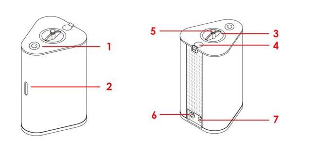 H2-Inhalator-Aufbau