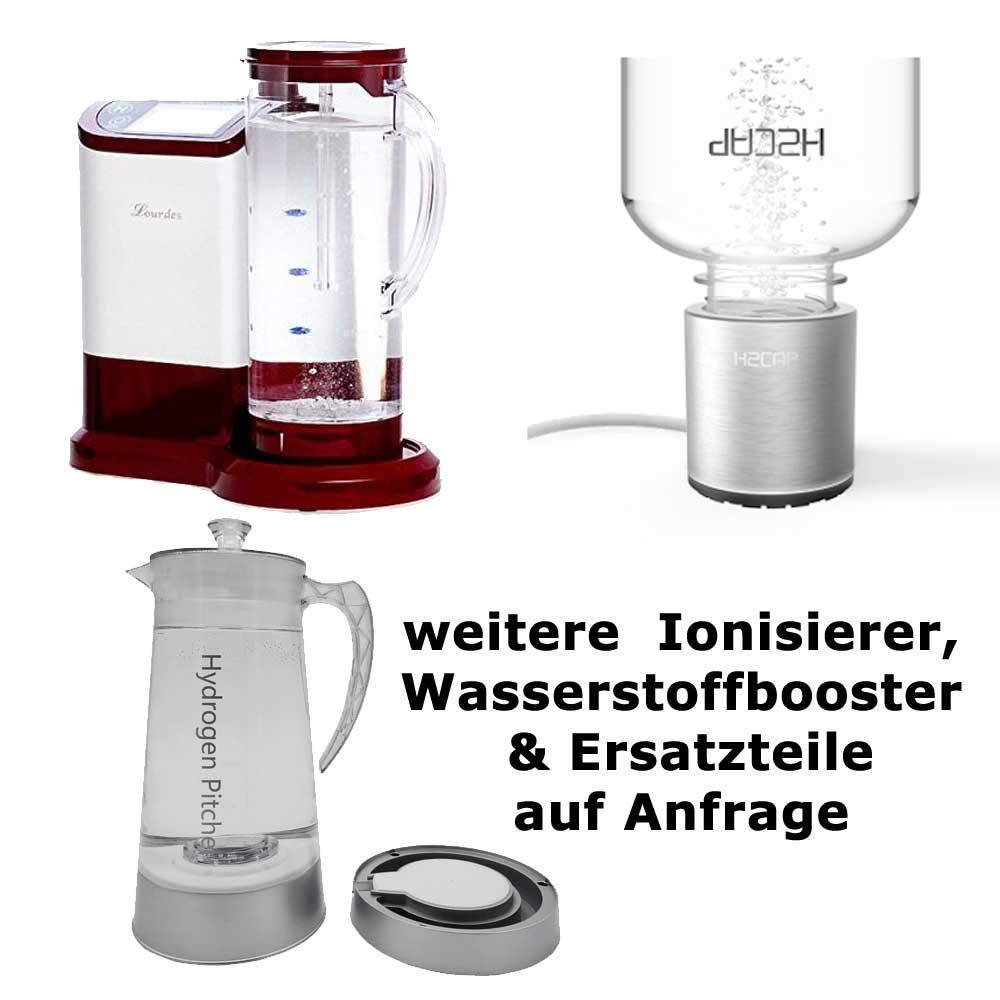 weitere-Ionisierer, Wasserstoffbooster & Ersatzteile auf-Anfrage