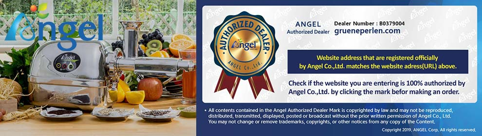 autorisierter Angel-Juicer Fachhändler