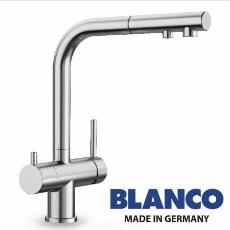 3-in-1-Wasserhahn-Blanco-mit-ausziehbarer-Brause-Made-in-Germany