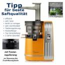 Sana-EUJ 828-Slow Juicer orange