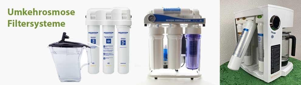 Umkehrosmose-Filtersysteme