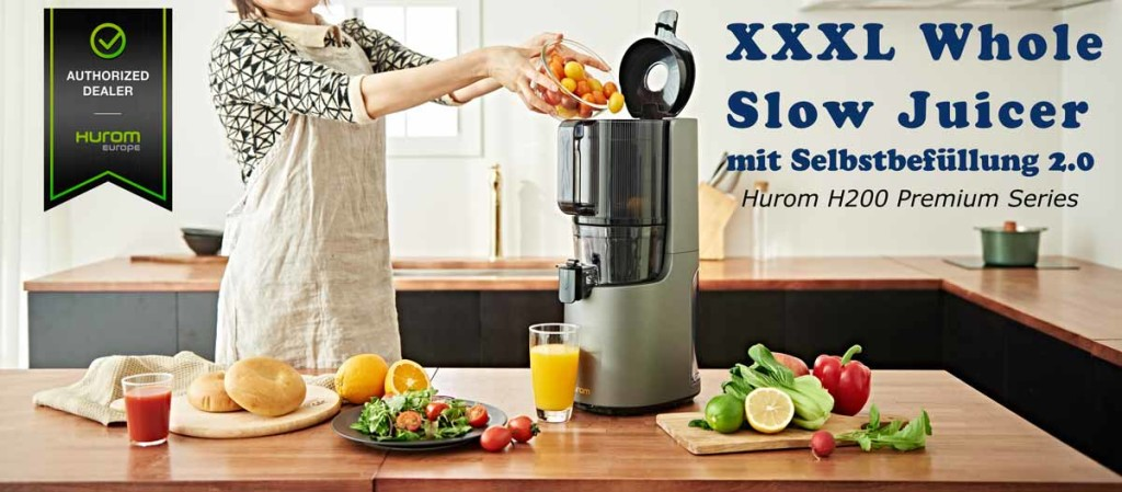 Hurom-H200-Whole-SlowJuicer Premium Series