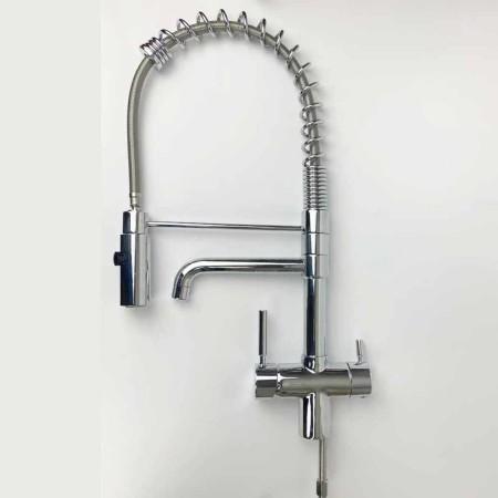 Spiralfederhahn-Professional-chrom