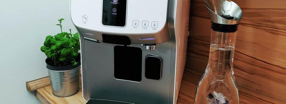 Bluecafe Trinkwassersystemmit 4 Wassersorten & Kaffee
