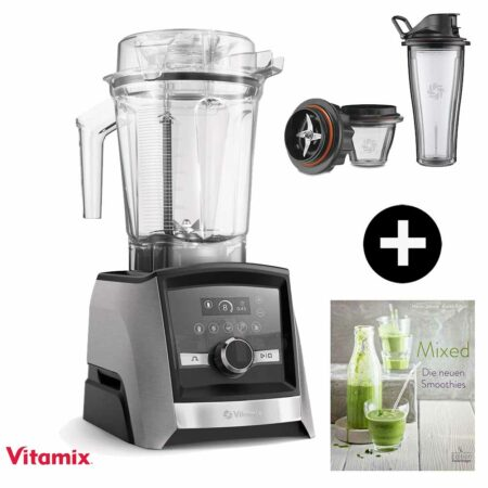 Vitamix-Ascent-3500-mit Mix & Go Family Set