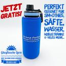 Glasflasche Lara-GP-Bluewater Edition