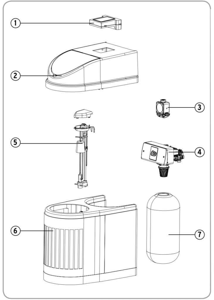 Bauteilzeichnung LEX Plus 10